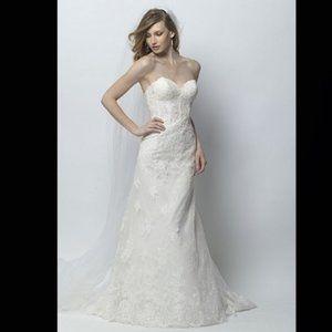 Wtoo 18410 Wedding Dress | New, Size: 10